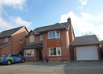 Thumbnail 5 bedroom detached house to rent in Heathley Park Drive, Leicester