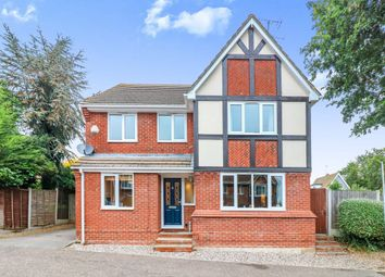 Thumbnail 4 bed detached house for sale in Jubilee Close, Hockley
