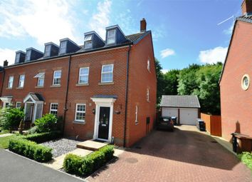 Thumbnail 3 bedroom end terrace house for sale in Tubbs Croft, Welwyn Garden City, Hertfordshire