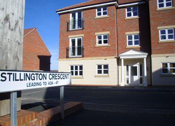 Thumbnail 2 bed flat to rent in Stillington Crescent, Hamilton