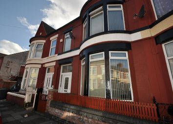 Thumbnail 3 bed terraced house for sale in Ilchester Road, Wallasey