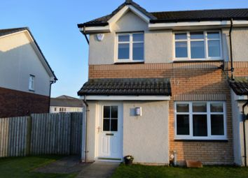 Thumbnail 3 bedroom end terrace house for sale in Hopefield Gardens, Wishaw