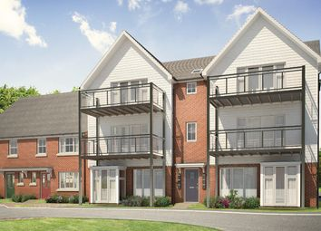 "Thumbnail 2 bed flat for sale in ""The Adlington"" at Avocet Way, Ashford"