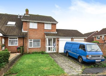 Thumbnail 3 bed semi-detached house for sale in Quintin Close, Hailsham