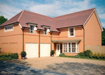 "Thumbnail 4 bed detached house for sale in ""Rothbury"" at Blackthorn Crescent, Brixworth, Northampton"