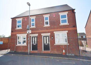 Thumbnail 2 bed semi-detached house for sale in Samuel Street, Packmoor, Stoke-On-Trent