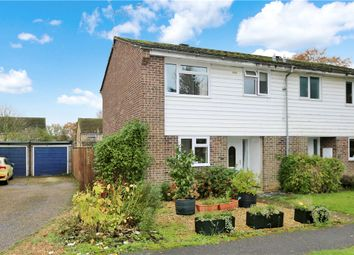 Thumbnail 3 bed semi-detached house for sale in Pine Road, Romsey, Hampshire