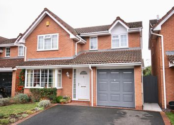 Thumbnail 4 bed detached house for sale in Leeses Close, Telford