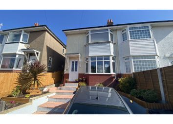 Thumbnail 3 bed semi-detached house for sale in Sunnyside Road, Poole