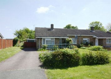 Thumbnail 2 bed semi-detached bungalow for sale in Eltisley, St Neots, Cambridgeshire