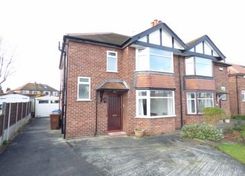 Thumbnail 3 bed semi-detached house for sale in Tideswell Road, Hazel Grove, Stockport