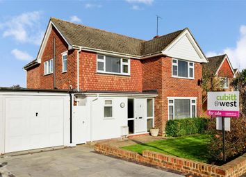 Thumbnail 3 bed detached house for sale in Churchill Way, Burgess Hill, West Sussex
