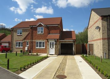 Thumbnail 2 bed semi-detached house for sale in Oaks Drive, Necton, Swaffham