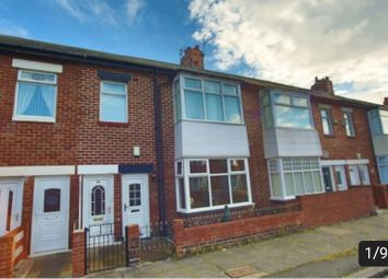 Thumbnail 3 bed flat for sale in Cranford Street, South Shields