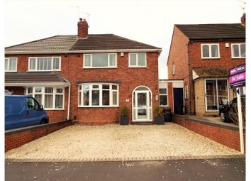 Thumbnail 3 bedroom semi-detached house for sale in Heathleigh Road, Birmingham