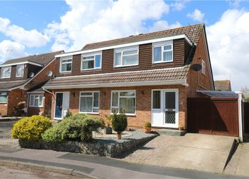Thumbnail 3 bed semi-detached house for sale in Dibble Drive, North Baddesley, Southampton, Hampshire