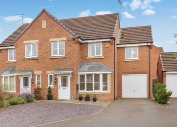Thumbnail 4 bed semi-detached house for sale in King Cup Drive, Cannock, Staffordshire