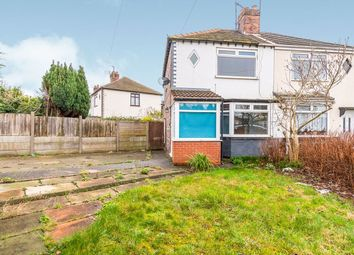 Thumbnail 2 bed semi-detached house for sale in Ditchfield Road, Widnes, Cheshire