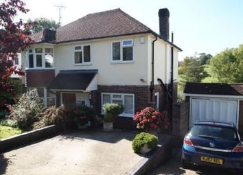 Thumbnail 1 bed property to rent in Hurst Farm Road, East Grinstead, West Sussex.