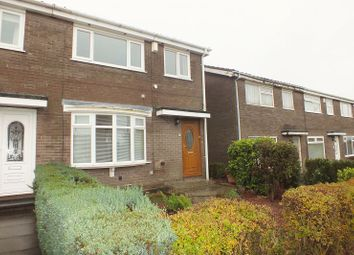 Thumbnail 3 bed terraced house to rent in Kings Walk, Chapel Park, Newcastle Upon Tyne