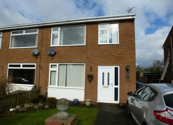 Thumbnail 3 bedroom semi-detached house to rent in Lodge Close, Freckleton, Preston