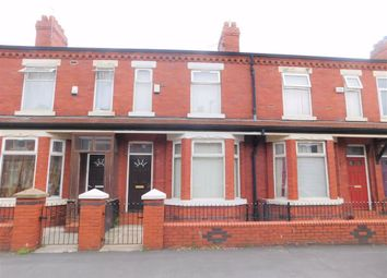 Thumbnail 3 bedroom terraced house for sale in Crofton Street, Rusholme, Manchester