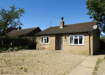 Thumbnail 2 bed detached bungalow for sale in Station Road, West Dereham, King's Lynn