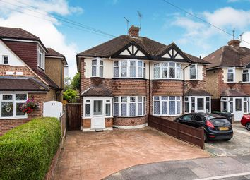 Thumbnail 3 bed semi-detached house for sale in Romney Close, Chessington, Surrey