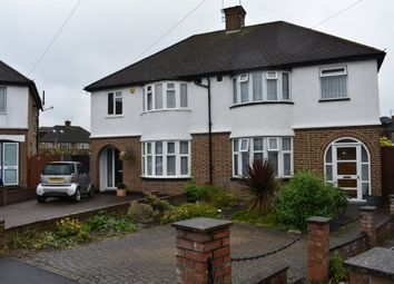 Thumbnail 3 bed semi-detached house for sale in Lansdowne Close, Watford