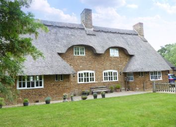 Thumbnail 4 bed detached house for sale in Main Road, Thenford, Banbury