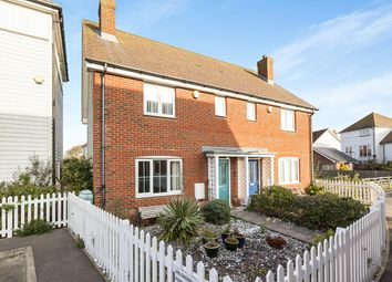 Thumbnail 3 bed semi-detached house for sale in Sandy Way, Camber, Rye