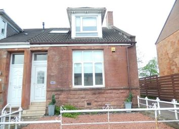 Thumbnail 2 bed end terrace house to rent in Glasgow Road, Wishaw