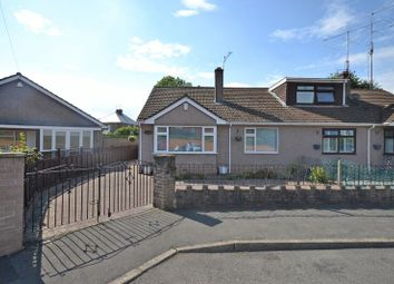 Thumbnail 2 bed semi-detached bungalow for sale in Spacious Bungalow, Cefn Court, Rogerstone