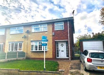 Thumbnail 3 bedroom semi-detached house for sale in Westmorland Drive, Costhorpe, Worksop