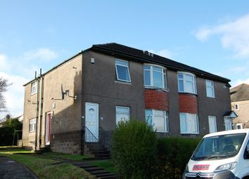 Thumbnail 3 bed flat for sale in Hartlaw Crescent, Hillington