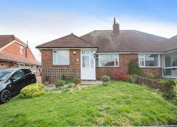 Thumbnail 2 bedroom semi-detached bungalow for sale in Summerlands Road, Willingdon, Eastbourne