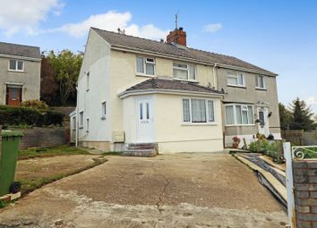 Thumbnail 3 bed semi-detached house for sale in Ffordd Coed Mawr, Bangor