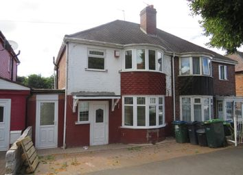 Thumbnail 3 bed terraced house to rent in Hugh Road, Smethwick