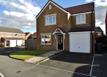 Thumbnail 4 bedroom detached house for sale in Southfields, Stanley, Crook