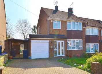 Thumbnail 3 bed semi-detached house for sale in Wilton Road, Cockfosters, Barnet