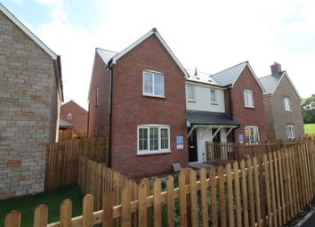 Thumbnail 3 bed semi-detached house for sale in Squires Meadow, Lea, Ross-On-Wye