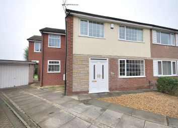 Thumbnail 4 bed semi-detached house for sale in Standfield Drive, Boothstown, Manchester
