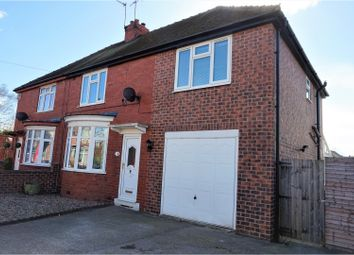 Thumbnail 4 bed semi-detached house for sale in Landa Grove, Tuxford