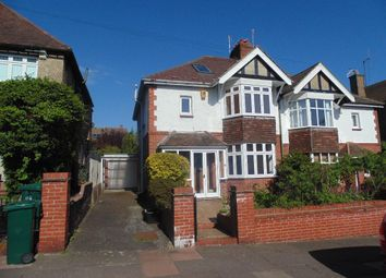 Thumbnail 4 bed semi-detached house to rent in Bavant Road, Brighton, East Sussex