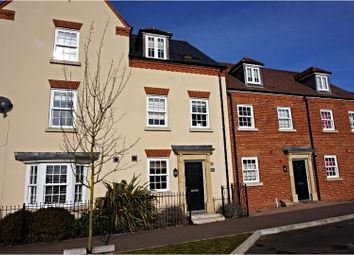 Thumbnail 3 bed terraced house to rent in Greenkeepers Road, Bedford
