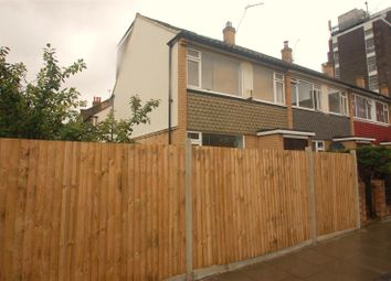 Thumbnail 3 bed end terrace house to rent in Southey Road, London