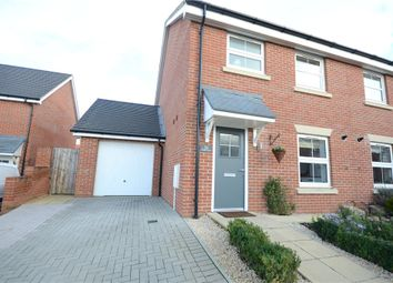 Thumbnail 3 bed semi-detached house for sale in Thapa Close, Church Crookham, Fleet