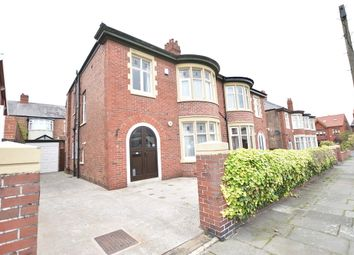 Thumbnail 4 bedroom semi-detached house for sale in Leicester Road, Blackpool