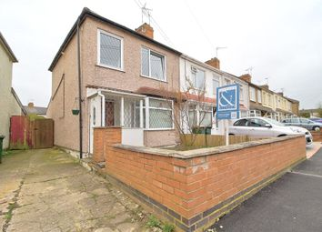 Thumbnail 3 bed end terrace house for sale in Meadow Road, Holbrooks, Coventry, West Midlands