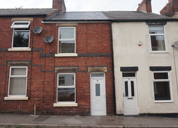 Thumbnail 2 bed terraced house to rent in Charles Street, Brampton, Chesterfield, Derbyshire